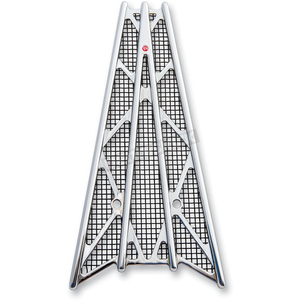 Battistinis Chrome/Black Anodized Wireframe Grill - 50-526