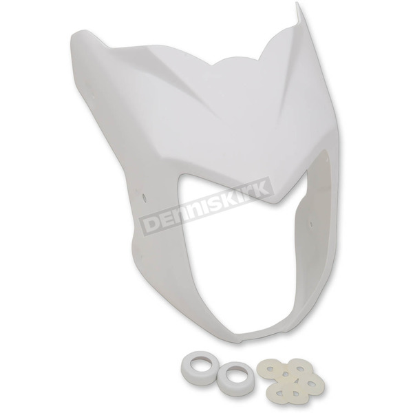 Hotbodies Racing Unpainted Mask Front Fairing - 41401-1402