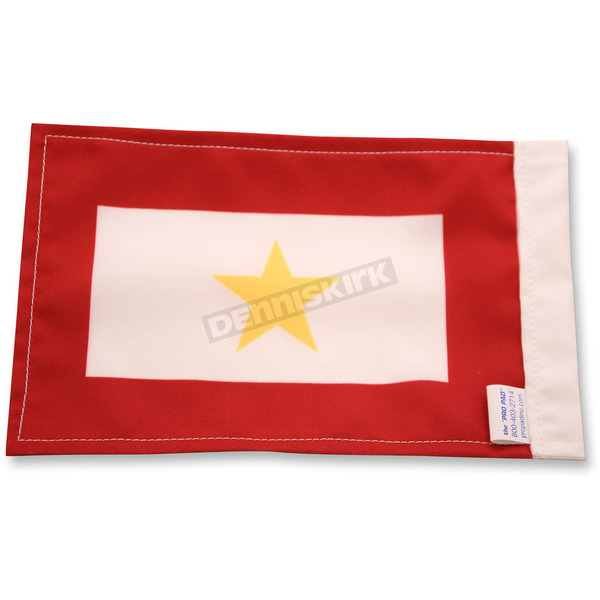 Pro Pad Gold Star Motorcycle Flag - FLG-GS
