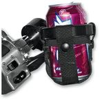 Black Roadrunner Drink Holder Insert Kit for 1 in. Bars - 22-RRCH-B