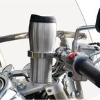 Chrome Roadrunner Drink Holder for 1 in. Bars - RRCH