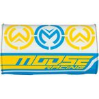 Blue/Yellow Flex Handlebar Pad - 0603-0639