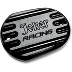 Joker Racing Black Anodized Front Master Cylinder Cover - 10-381B