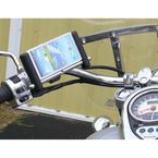 Chrome E-Caddy Slide Phone Mount for 1 in. Bar - ESL-CH-L