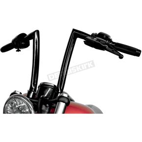 Todd's Cycle Gloss Black 1-1/4 in. Handlebar - 0601-1872