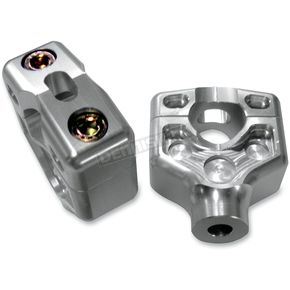 Joker Machine Clear Anodized Series 900 Dual Top Handlebar Clamp Assembly - 09061S