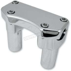 Drag Specialties Chrome 3 in. Handlebar Risers - 0602-0586