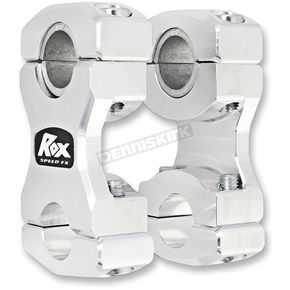 ROX Speed FX 2 1/2 in. T-Style Stem Pivoting Risers - 1R-BR25SE