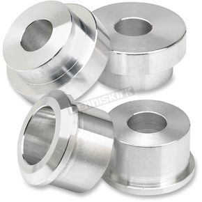 Lowbrow Customs Raw Aluminum Solid Riser Bushing Kit - 003338