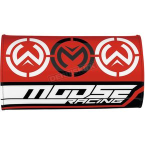 Moose Red Flex Handlebar Pad - 0603-0634