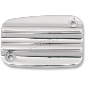 Covingtons Customs Front Chrome Handlebar Master Cylinder Cover - C1152-C