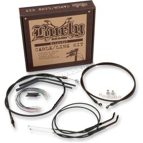 Burly Brand 14 in. Handlebar Installation Kit - B30-1011