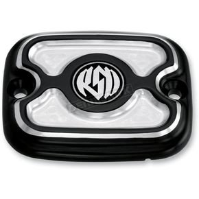 Roland Sands Design Contrast Cut Cafe Front Brake Master Cylinder Cover - 0208-2036-BM