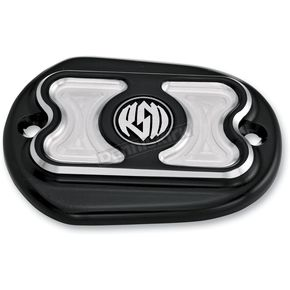 Roland Sands Design Contrast Cut Cafe Front Brake Master Cylinder Cover - 0208-2038-BM