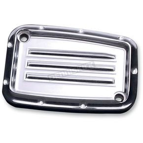 Covington Cycle City Chrome Dimpled Clutch Master Cylinder Cover - C1158-C