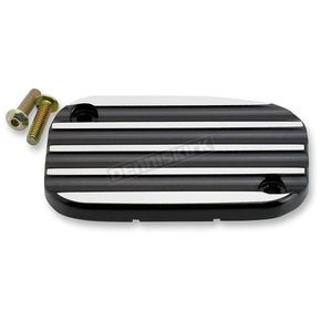 Joker Machine Black Anodized Finned Clutch Master Cylinder Cover - 08-005B