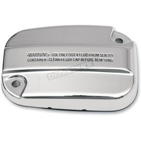 Drag Specialties Chrome Front Master Cylinder Cover - 0611-0031