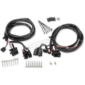 Drag Specialties Black Lighted Switch Kit  - 0616-0189
