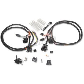 Drag Specialties Black Lighted Switch Kit  - 0616-0201