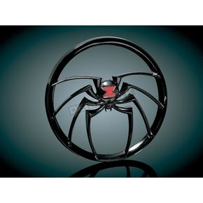 Kuryakyn Gloss Black Widow Medallion - 3713