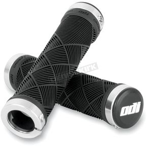 ODI Black Cross Trainer Lock-On Grips - L30CTBS