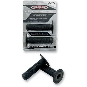 SDG Black  ATV 2-Density MX Grips - 99114