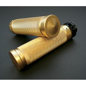 Accutronix Brass Full Knurled Grips - GR100-K5