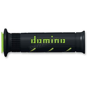 Domino Grips Black/Green Domino XM2 Grips - A25041C4440