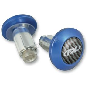 Factory Effex Blue Bar End Kit - 15-36002