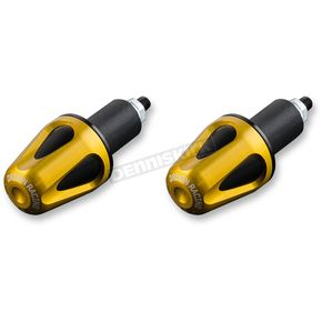 Driven Racing Gold/Black D-Axis Bar Ends - DXB-GD