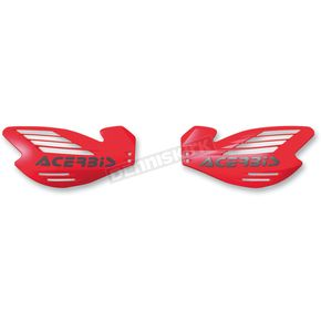 Acerbis Red X-Force Handguards - 2170320004