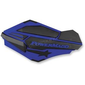 PowerMadd Blue/Black Sentinel Handguards - 34404