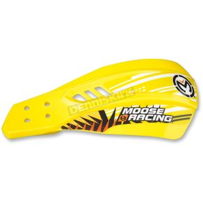 Moose Yellow Qualifier Handguards w/Aluminum Mounting Hardware - 0635-1074
