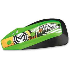 Moose Green Podium Shields for Probend/Rebound Handguards - 0635-1109
