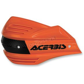 Acerbis Orange/Black Replacement Plastic for X-Factor Handguards - 2393481008