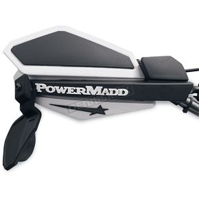 PowerMadd Star Series Handguard Mirror Kit with Springs - PM14267