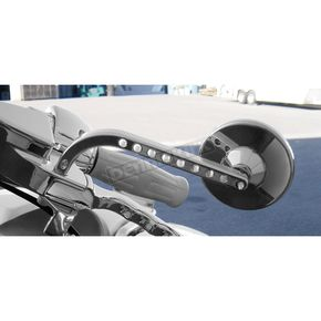 Chrome View Tech VII Billet Mirrors - 03-015L