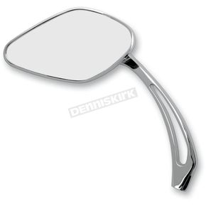 Drag Specialties Smooth Mirrors w/5 3/4 in. Slayer Stem - 0640-0630