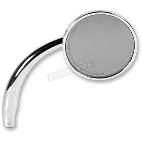 Russ Wernimont Designs Chrome Right Round Mirror - RWD-50107
