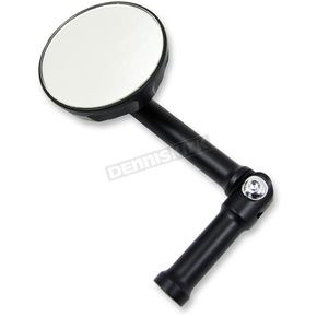 LA Choppers Satin Matte Black Fusion Mirror - LA-F500-00M