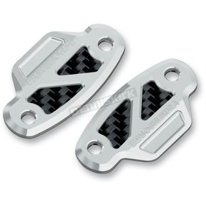 Yoshimura Mirror Block-Off Plates - 900CL141800