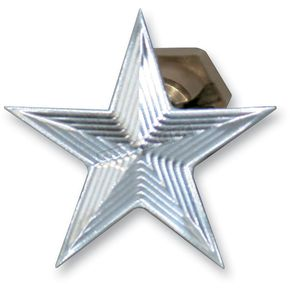 NYC Choppers Polished Nautical Star Enrichener Knobs for S&S Carbs - NSCHOKEPOL