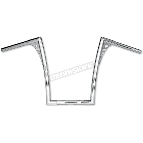 Roland Sands Design Chrome 1-1/4 in. King Ape Hanger Handlebar - 0173-1853-CH