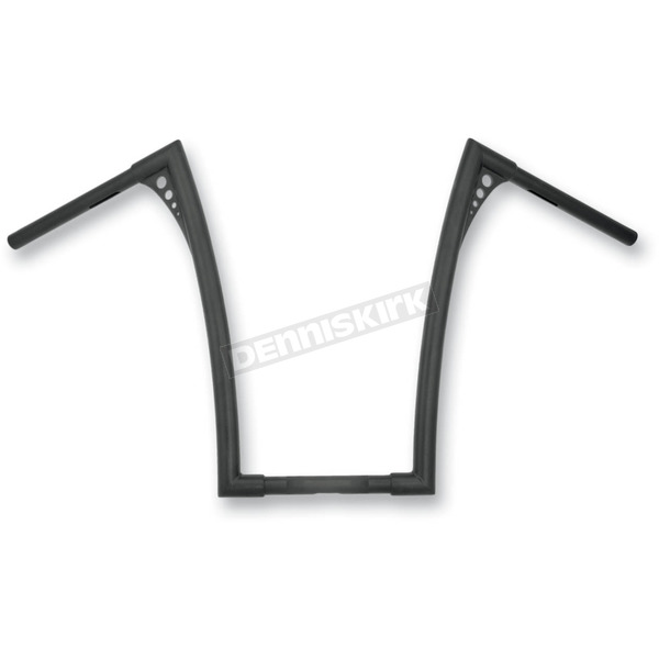 Roland Sands Design Black Ops 1-1/4 in. King Ape Hanger Handlebar - 0173-1853-TBP