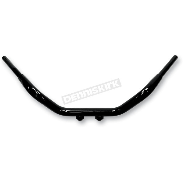 LA Choppers Black Shorty Wide 1 1/2 in. Tree Hugger Handlebar - LA-7375-00B