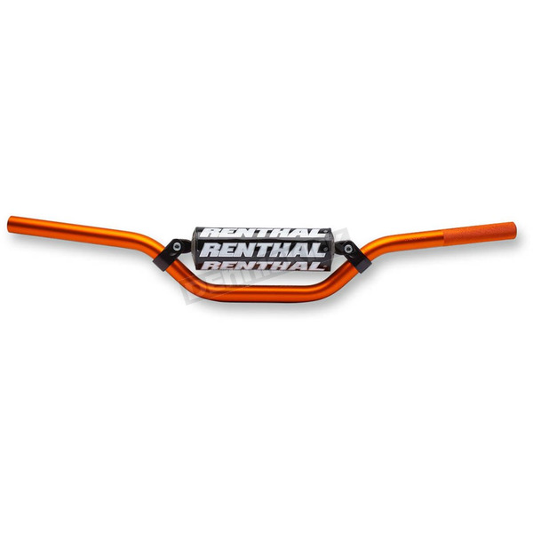 Orange 7/8 in. KTM65SX Bend Handlebar - 82301OR03219
