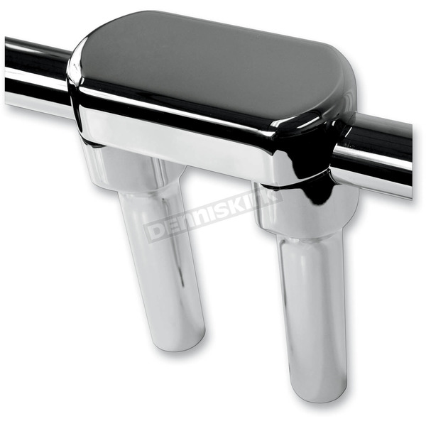 LA Choppers Chrome 5 7/8 in. Top Clamp Handlebar Riser - LA-7442-06