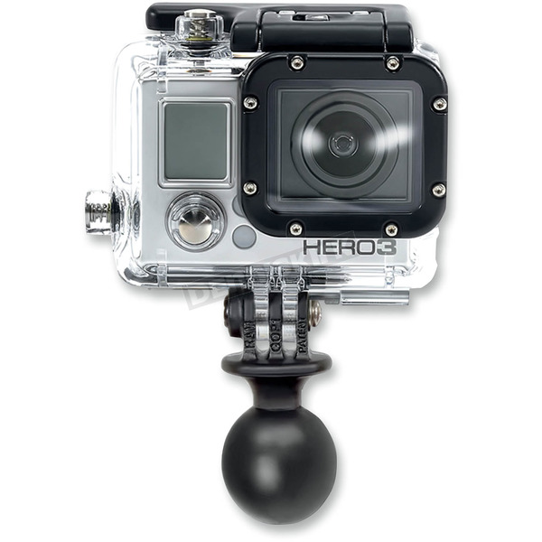 Ram Mounts 1 in. Diameter Ball with Custom GoPro Camera Adapter  - RAP-B-202-GOP1