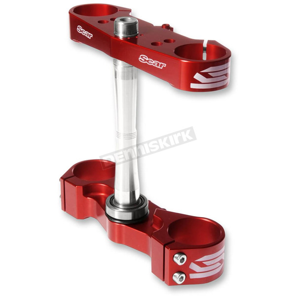 Scar Red Standard Triple Tree Clamp - S2417