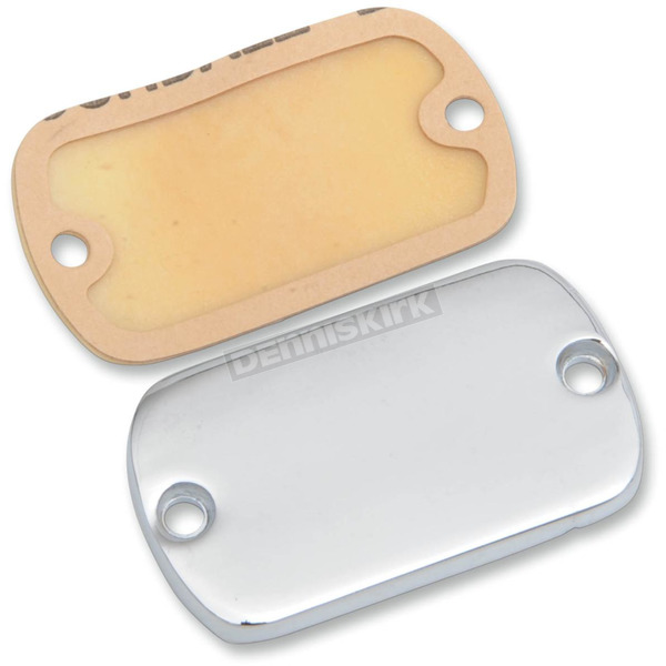 Drag Specialties Chrome Front Brake Master Cylinder Cover - 0610-0685